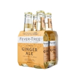 Fever-Tree Ginger Ale Tonic water 4 x Pack 200 ml