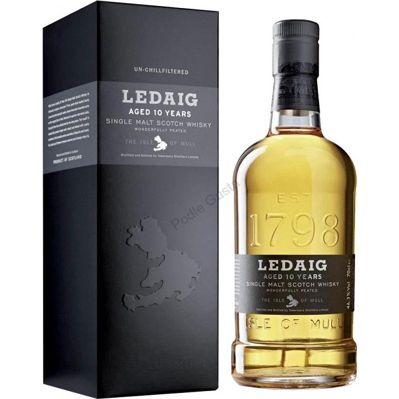 Ledaig 10 Year Old Single Malt Scotch Whisky 0,7