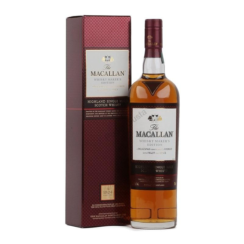 The Macallan Makers Edition whisky from the 1824 Collection 0,7