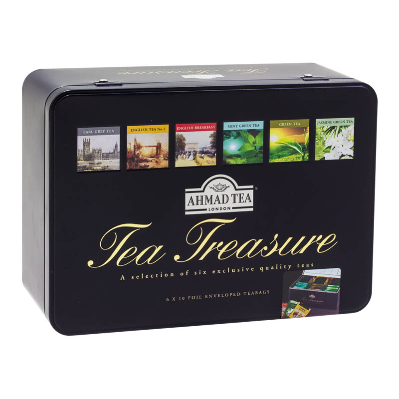 Ahmad Tea Treasure plech 6 x 10 x 2 g