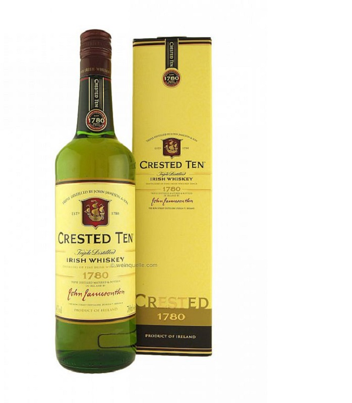 John Jameson Crested Ten whiskey 0,7l
