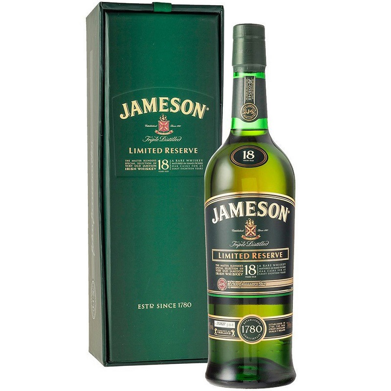 John Jameson 18 yo whiskey 0,7l