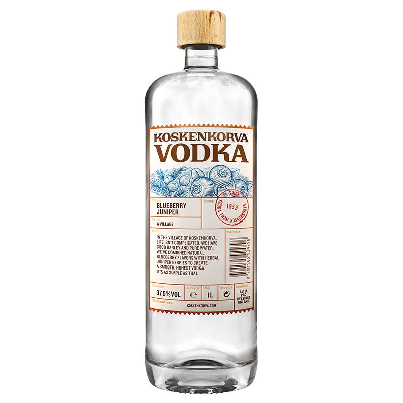 Koskenkorva Blueberry vodka 1l