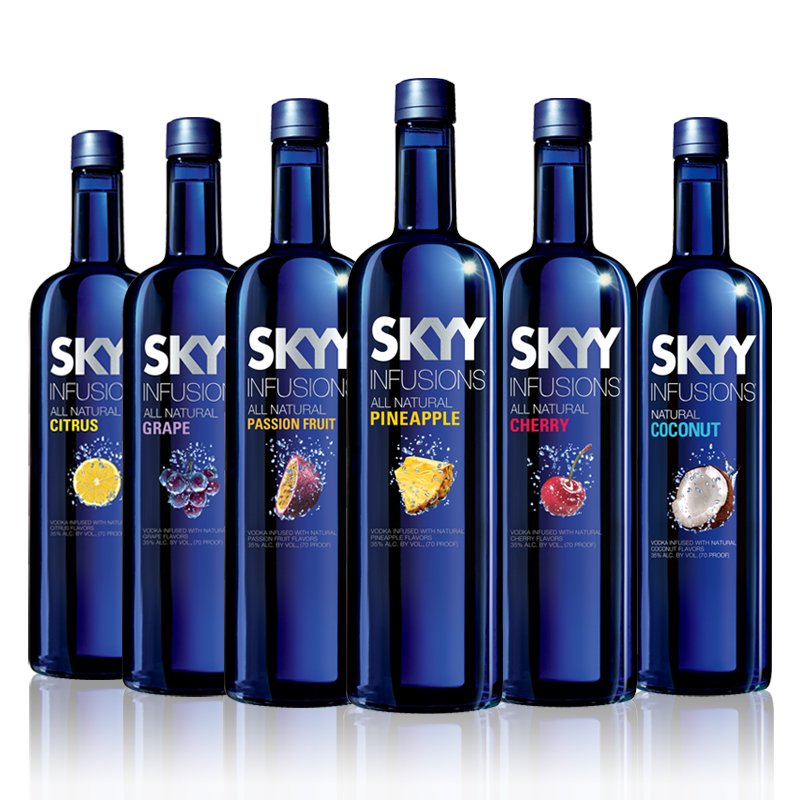 Vodka Skyy flovers