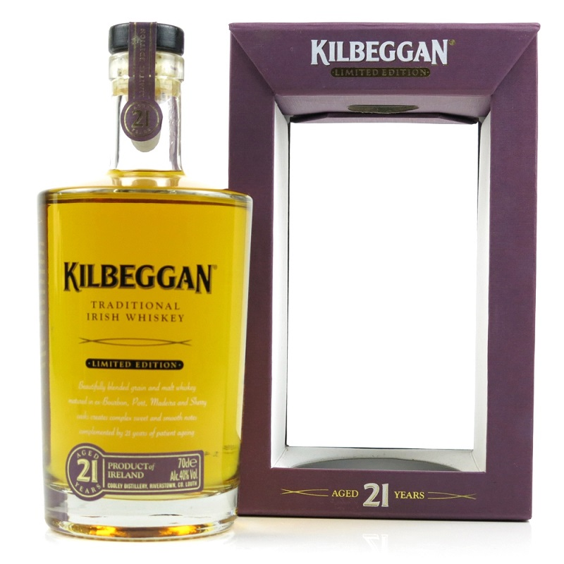 Kilbeggan 21 yo Limited Edition Irish Whiskey 0,7l