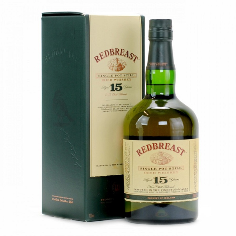 RedBreast 15 years old pure pot still Irish whiskey 0,7