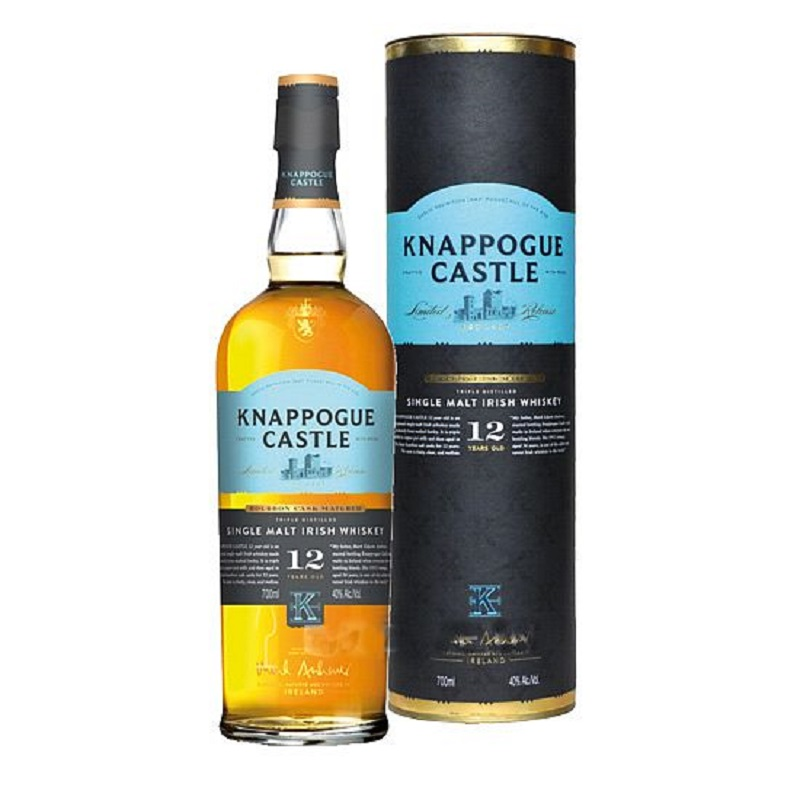 Knappogue Castle 12yo Single Malt Irish whiskey 0,7