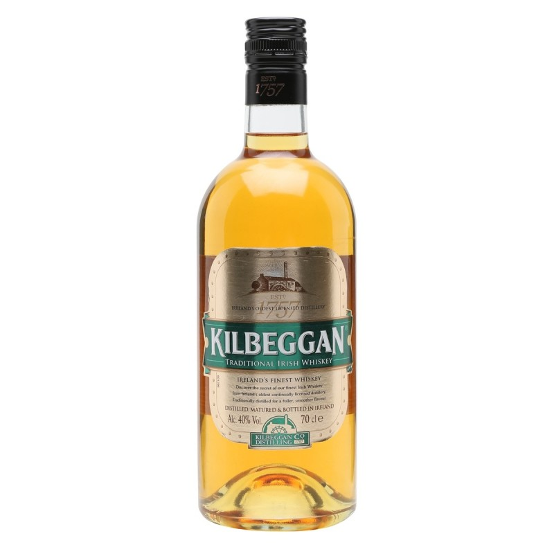Kilbeggan Irish Blended whiskey 0,7