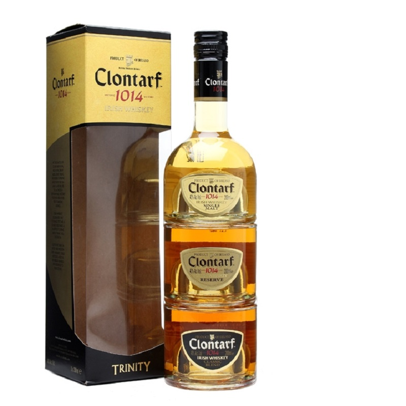 Clontarf Trinity Mini Set whiskey