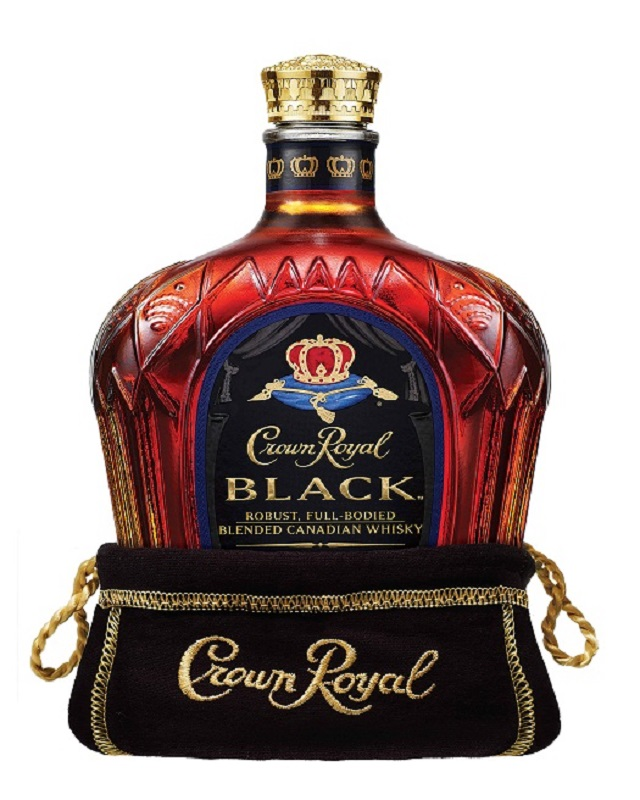 Crown Royal Black Canadian Blended Whisky 0,7