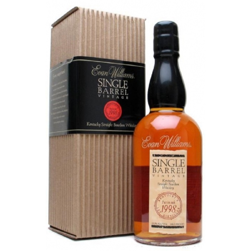 Evan Williams 1988 Single Barrel Kentucky Straight Bourbon Whiskey