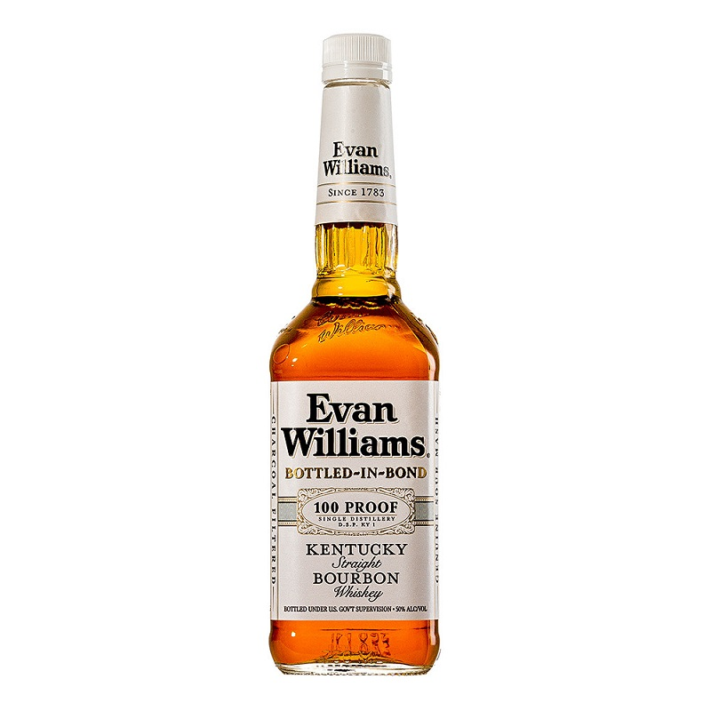 Evan Williams Bottled in Bond Kentucky Straight Bourbon Whiskey 0,70