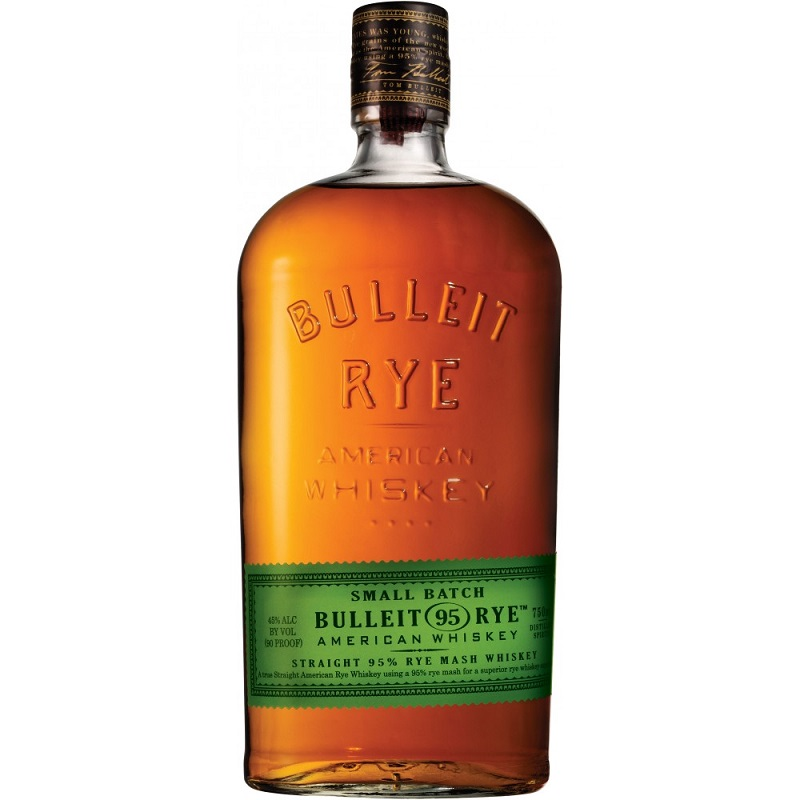 Bulleit 95 Rye Sour Mash Frontier whiskey 1L