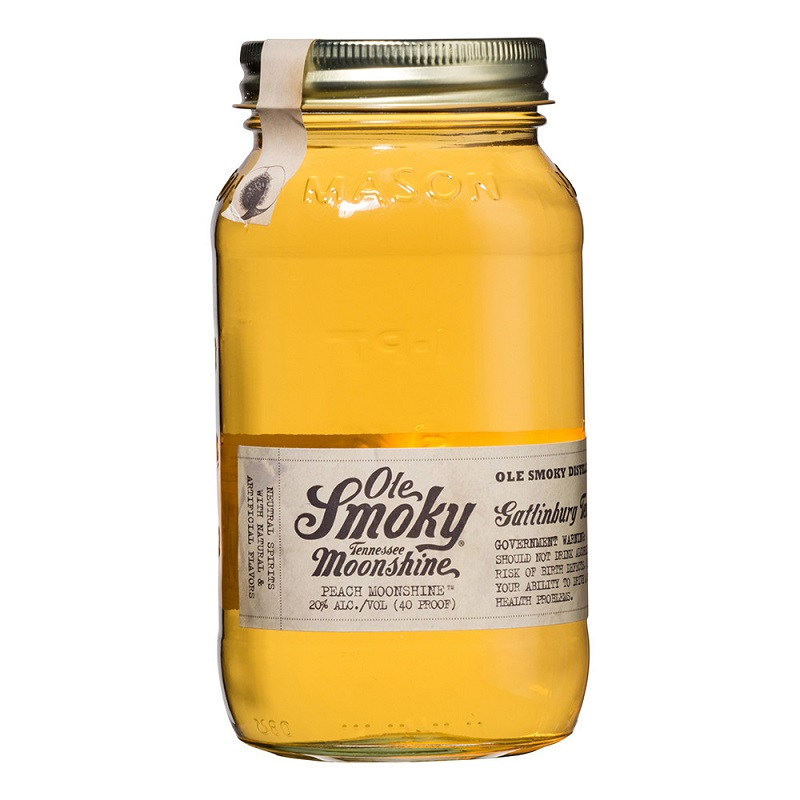Ole Smoky Peache American whiskey 0,7