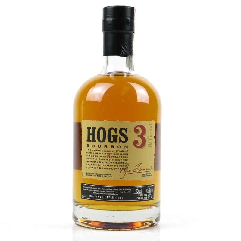 Hogs 3 Kentucky Straight Bourbon Whiskey 0,7