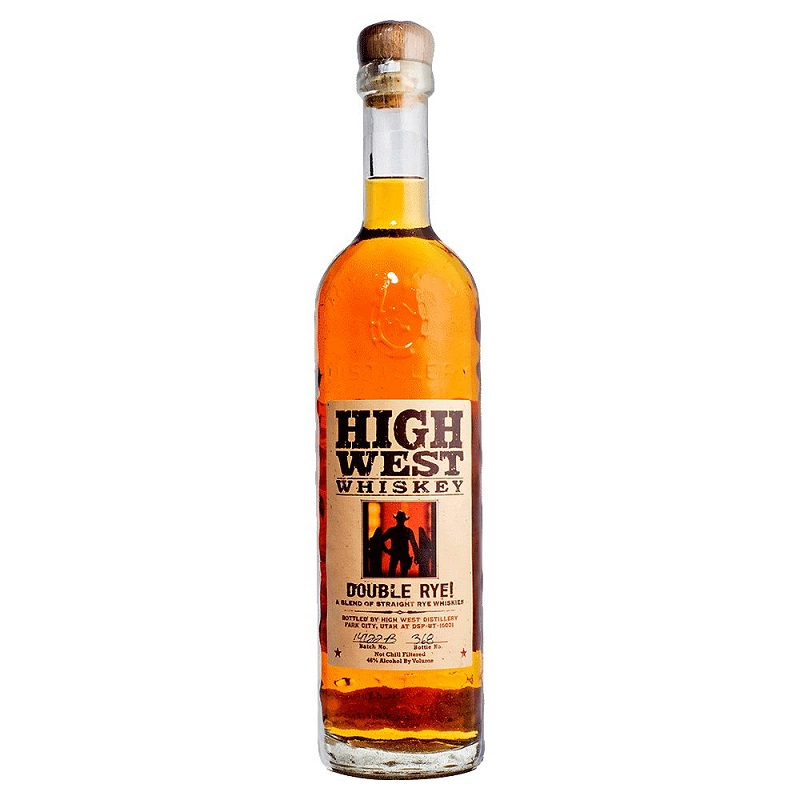 High West Double Straight rye American whiskey 0,7