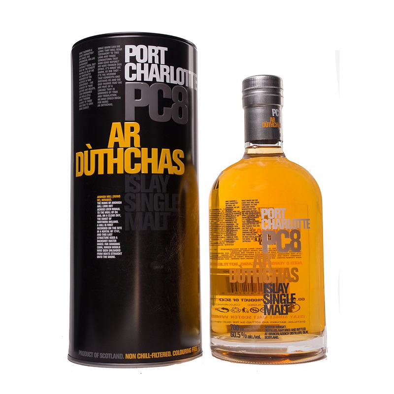 Port Charlotte PC 8 Islay whisky