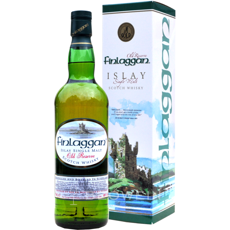 Finlaggan Old Reserve Cask Strength Single malt Islay whisky 0,7