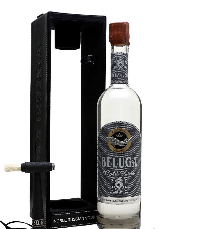Beluga Gold line Gift box Russian vodka 1l