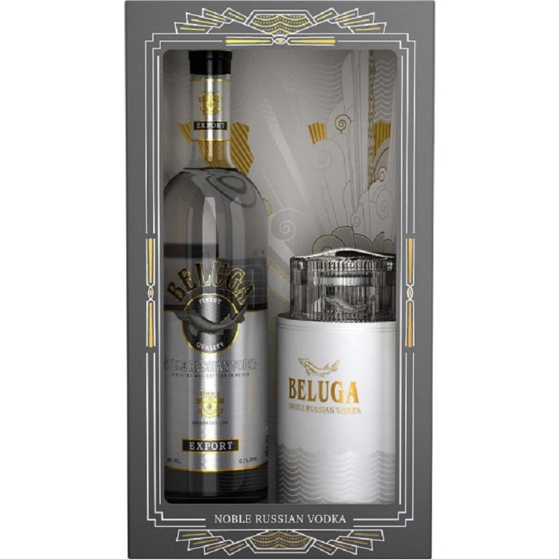 Beluga Noble Vodka Caviar Gift Set 0,7