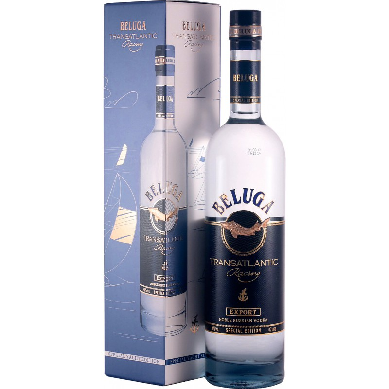 Beluga Transatlantic Racing vodka Gift Box 0,7