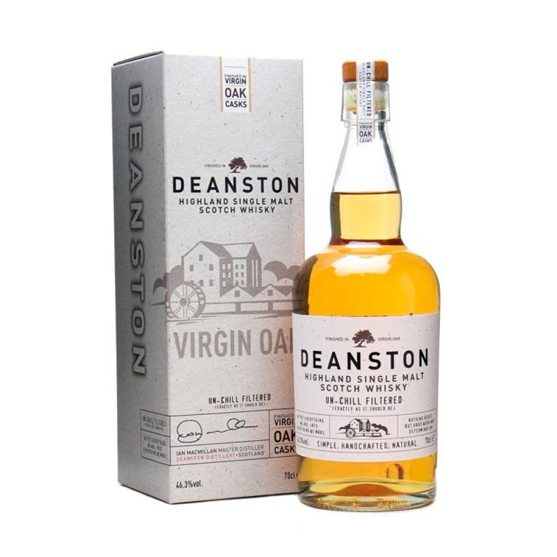 Deanston Virgin Oak Unchillfiltered Whisky 700ml