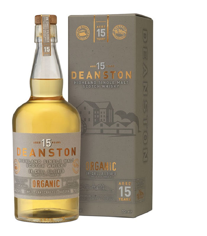 Deanston 15 Year Old Organic Whisky - BIO