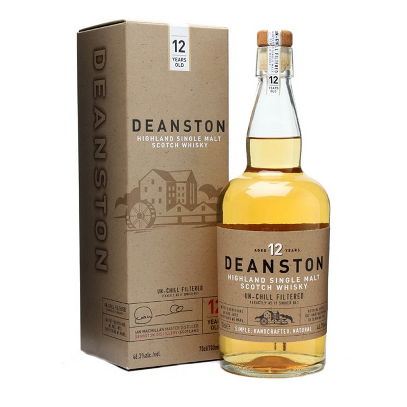 Deanston 12 Year Old Whisky 0,7
