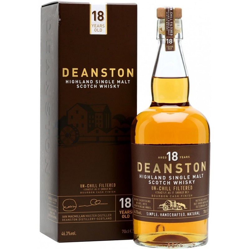Deanston 18 Year Old Whisky 0,7