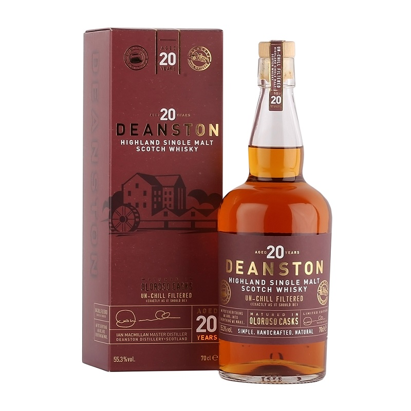 Deanston Limited Edition Oloroso Cask 20 Year Old Single Cask