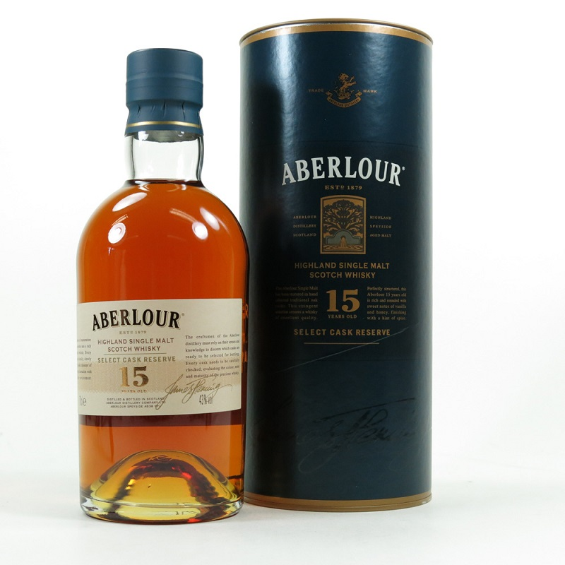 Aberlour 15 Year Old Select Cask Reserve Whisky