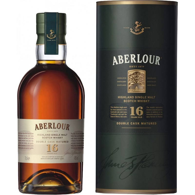 Aberlour 16 Year Old Whisky 0,7