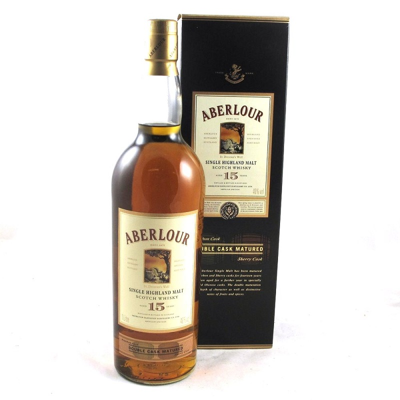 Aberlour 15 Year Old Double Cask Scotch Whisky 0,7