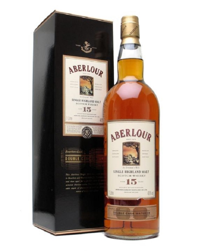 Aberlour 15 Year Old - Double Cask Scotch Whisky 1l