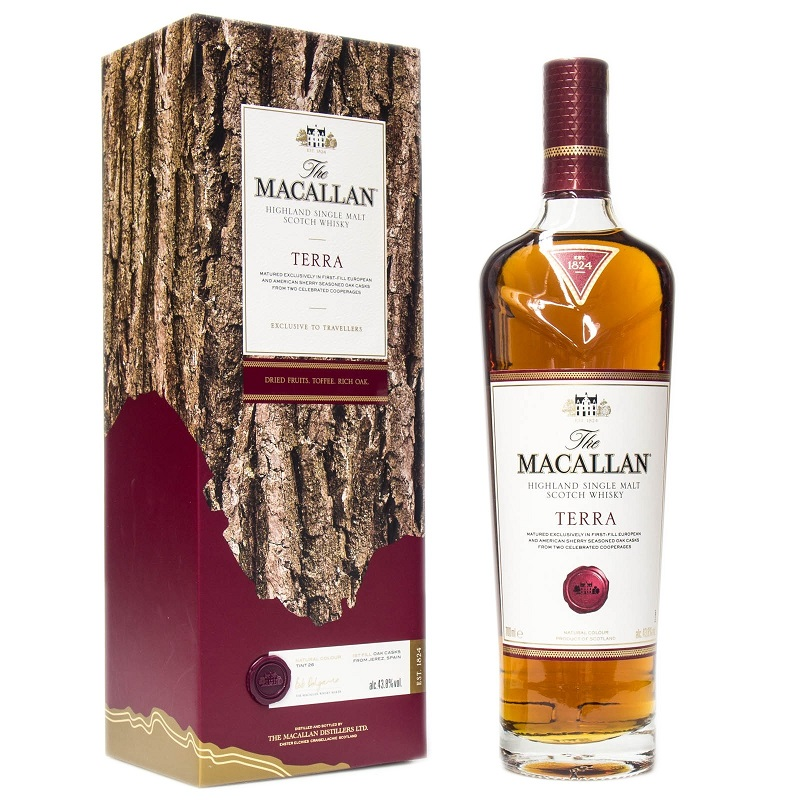 The Macallan Quest collection Terra whisky 0,7