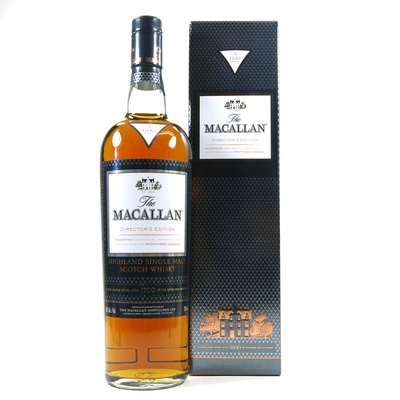 Macallan Director's Edition whisky