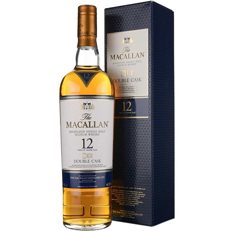 Macallan Double Cask 12 Year Old Whisky 0,7