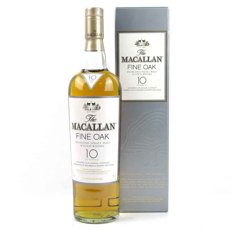 Macallan 10 Year Old Fine Oak Whisky 0,7