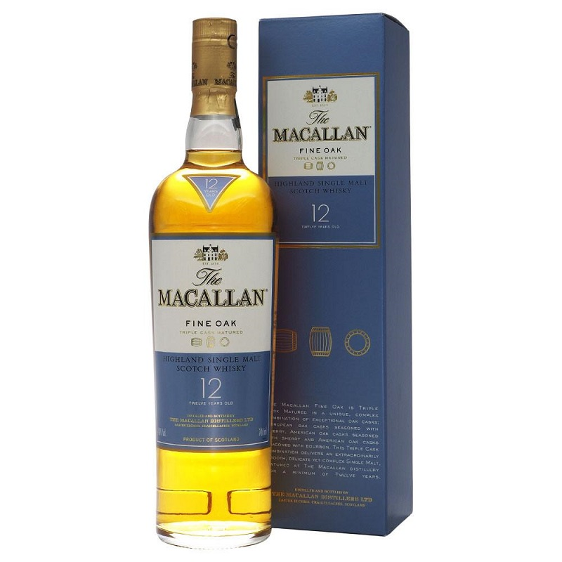 Macallan 12 Year Old Fine Oak Whisky