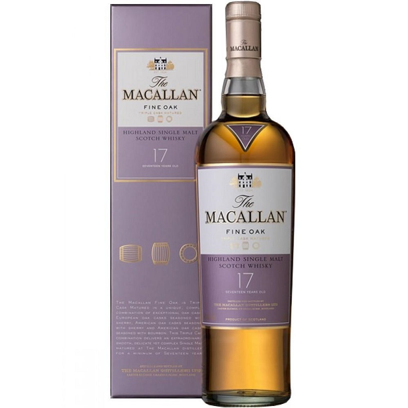 Macallan 17 Year Old Fine Oak Whisky