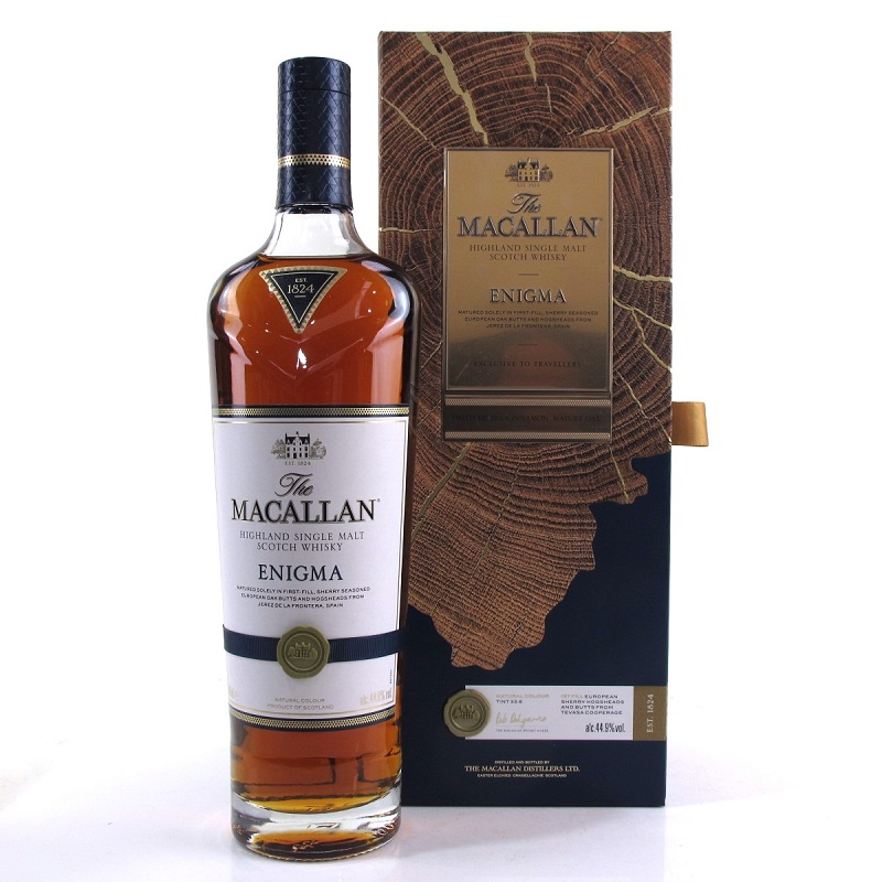The Macallan Quest collection Enigma whisky 0,7