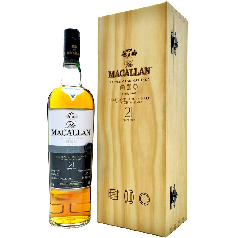 Macallan 21 Year Old Fine Oak Whisky
