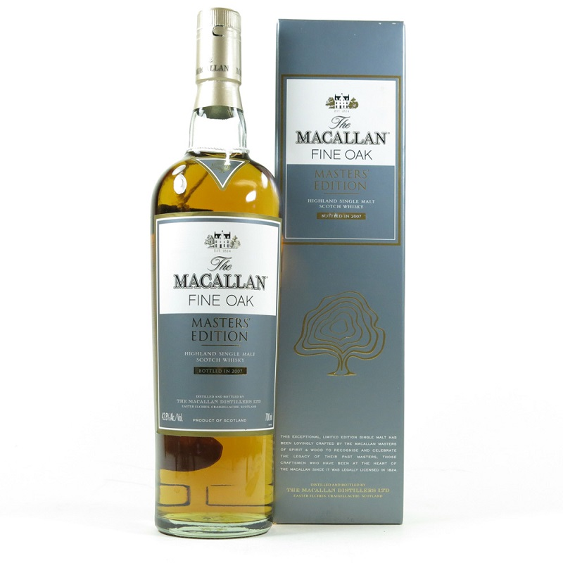 Macallan Fine Oak Masters Edition Whisky 0,7