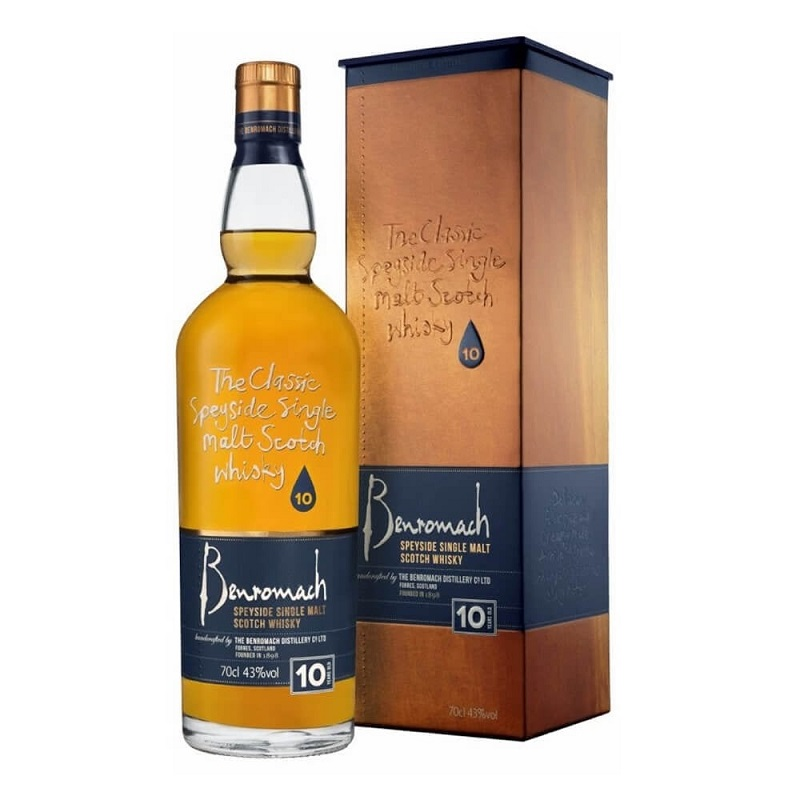 - Benromach 10 Year Old Scotch Whisky 0,7