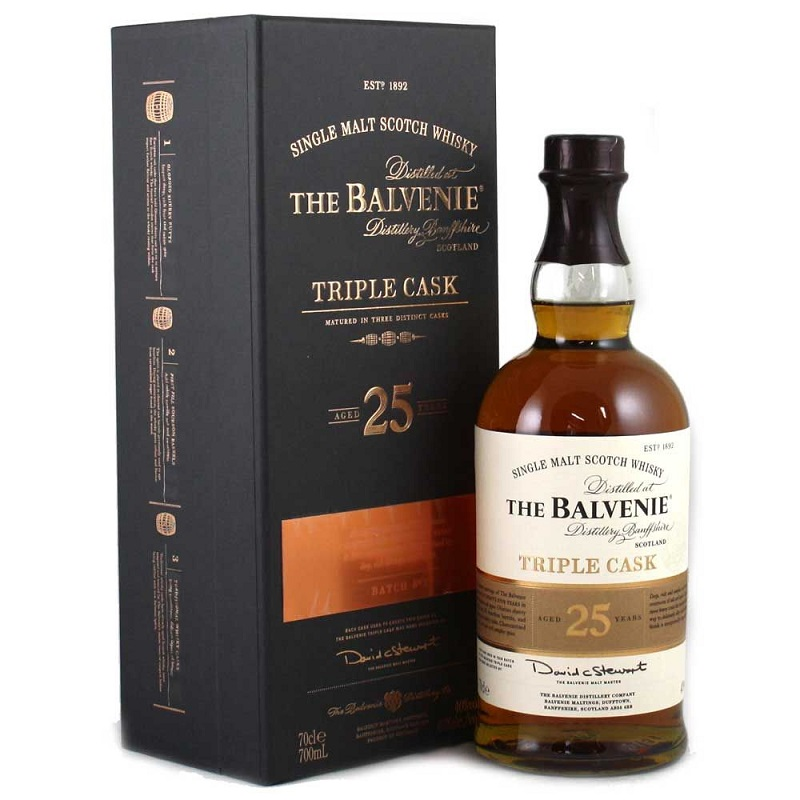 Balvenie 25 YO Single Barrel Whisky 0.7L (47.8 Vol.)