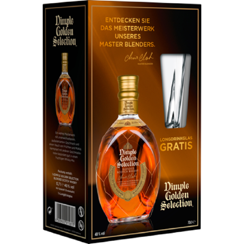 Dimple Gold Collection set whisky 0,7