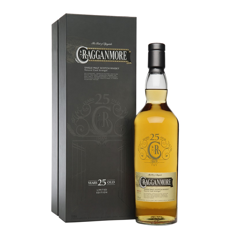 Whisky Cragganmore 25 Years Old Speyside