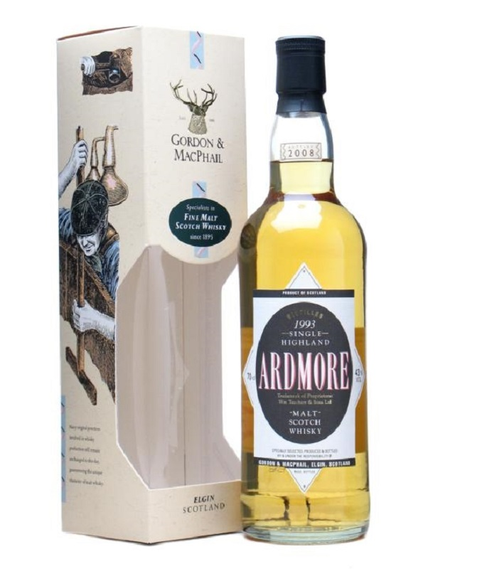 Whisky Ardmore 1993 Cask Strength 0,7