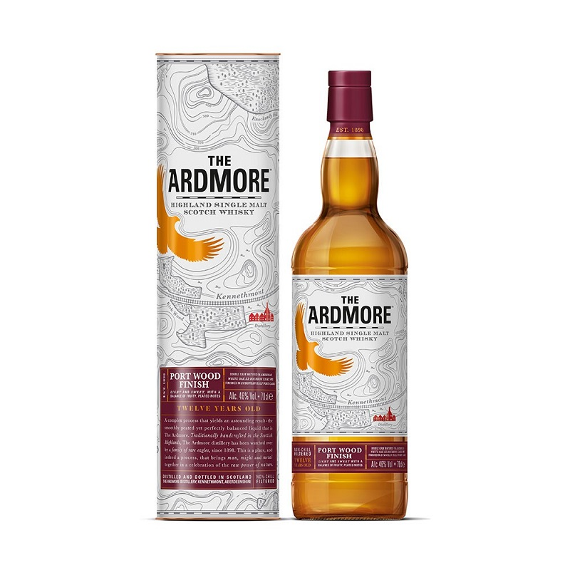 Ardmore 12 Years old Portwood whisky 0,7