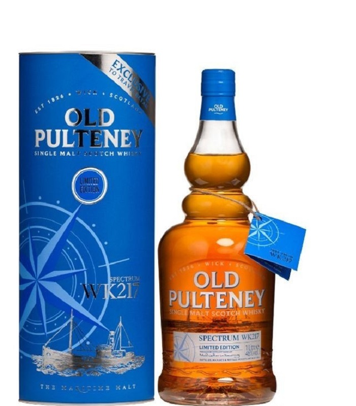 Old Pulteney WK217 Spectrum Limited Edition Single Malt Scotch whisky